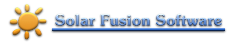 Solar Fusion               Software