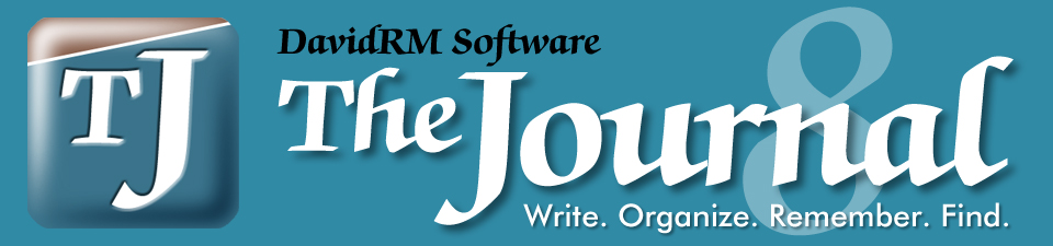 DavidRM Software's The Journal